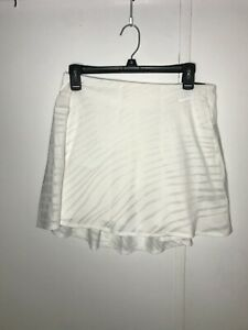 Nike Golf Women's Dri-Fit UV Breathe White Skirt CN0934-100 Size M