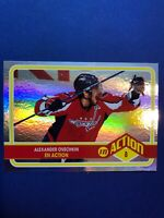2009-10 OPC In Action #ACT3 Alex Ovechkin / Rainbow Foil Insert