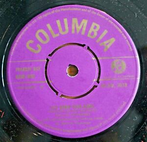 """BILLIE ANTHONY Lay Down Your Arms UK 7"""" PURPLE/GOLD Columbia DB 3818 NMINT 1956"""