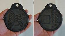 Old Vintage Korean Undercover Law Officer Badge Iron MaPae 5 Horses