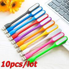 10pcs* Flexible USB LED Lamp LED Light for Keyboard Reading Laptop Notebook