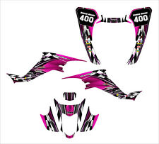 LTZ400 KFX 400 graphics kit for 2003 2004 2005 2006 2007 2008 #2500-HOT PINK