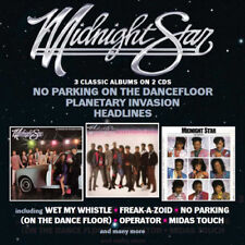 Midnight Star : No Parking On the Dancefloor/Planetary Invasion/Headlines CD