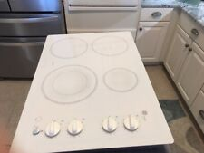 New listing Ge Profile Cooktop Jp350 White