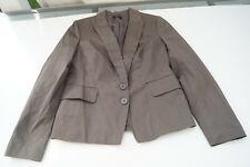 elegante ESPRIT Damen Business Jacke Blazer stretch Gr.42 olivgrün TOP
