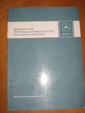 Mercedes Service Modelle 1976 - mit M 115 -  M 110 -- W 114 / 115 / 116