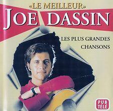 """JOE DASSIN : """"LE MEILLEUR"""" - LES PLUS GRANDES CHANSONS / CD"""