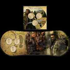 NEW ZEALAND 2013 THE HOBBIT,Thorin Oakenshield  COIN SET 3x $1 COINS!!! RRP $89