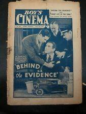 Behind The Evidence & Rustlers Red Dog John Mack Brown Boys Cinema UK 6/15/1935
