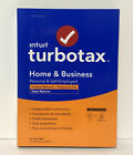 Intuit TurboTax Home and Business Federal E-File +State 2020 PC CD WINDOWS MAC NEW