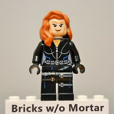 New Genuine LEGO Black Widow Minifig Marvel Super Heroes 6869