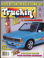 Truckin' Magazine April 1990 El Camino Review Ford Ranger EX 021216jhe