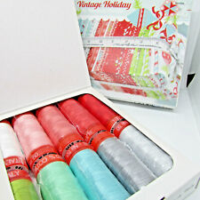 'Vintage Holiday' by Bonnie & Camile Aurifil thread collection 10 spools 50wt