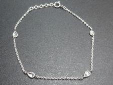 TOSH Armband bracelet 925 Sterling SILBER silver argent pulsera Zirkonia Stein