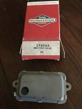 Genuine Briggs and Stratton Breather Assembly 294988 New Old Stock! Nib