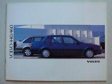 Prospekt Volvo 440 / 460 (GL - Turbo), 1992, 46 Seiten für Österreich