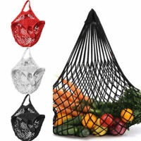 Reusable Shopping String Storage Mesh Bag Grocery Handbag Fishnet Woven Net Tote