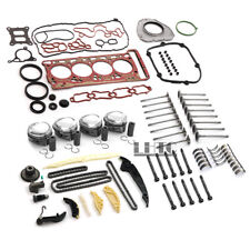 Rebuild Engine Overhaul Kit Pistons Vavles For VW Audi A3 A4 A5 1.8 TFSI CJE CJS