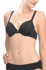Natori Pure Luxe Full Fit Contour Bra 732080 32DDD Black $72