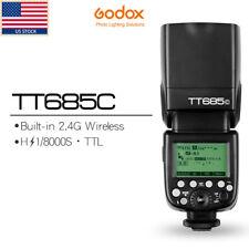 Godox TT685C 2.4G 1/8000s E-TTL HSS GN60 Flash Speedlite for Canon 60D 7D 5D
