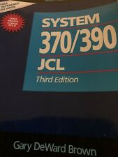 System 370/390 JCL - 1991 - 464 Pages