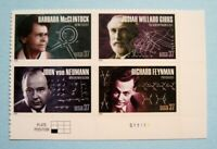 Sc # 3906-3906 ~ Plate Block of 4 ~ 37 cent American Scientists Issue (df17)