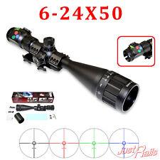 PRESMA -Eagle Series Rifle Scope 6-24x50 AOL RGB Illumination RXR Reticle