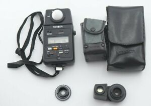 N.M Minolta Auto Meter III F + 5 degree SPOT Viewfinder Light Meter From JAPAN
