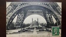 O) 1923 FRANCE, LOUIS PASTEUR 30 C. GREEN SCOTT A23, THE TROCADERO SEEN UNDER TH