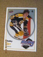 2010 11 Upper Deck Series 2 Hockey Heroes #HH 15 Bobby Orr - Boston Bruins     X