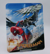 SPIDER-MAN HOMECOMING - Glossy Bluray Steelbook Magnet Cover (NOT LENTICULAR)