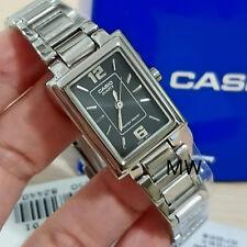 3b22cffbc735 Nueva Moda para Mujer Señora Casio LTP-1238D-1A plaza de Cuarzo Analógico Reloj  De Plata