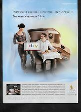 SINGAPORE AIRLINES BOEING 777 & A350 DIE NEUE BUSINESS CLASS FROM FRA MUNICH AD