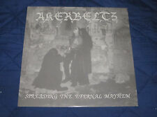 AKERBELTZ spreading the eternal mayhem LP first press cult!! immortal darkthrone