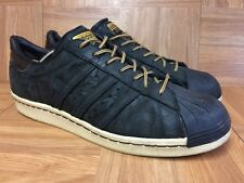 a74b5373b Worn🔥 Adidas Originals Superstar Camo Leather Pack Gold Sz 8.5 Men s Shoes  VNTG