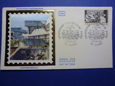 LOT 12803 TIMBRES STAMP ENVELOPPE ARCHITECTURE MODERNE FRANCE ANNEE 1985