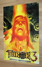 2000 Nintendo Mario Tennis / Turok 3 Shadow of Oblivion Poster 30x44cm 64 N64