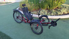 Best offer wins New Folding Recumbent Trike Bike Bicycle 3 Wheel Cycle Tricycle