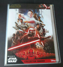 TOPPS STAR WARS THE RISE OF SKYWALKER empty binder & check list poster