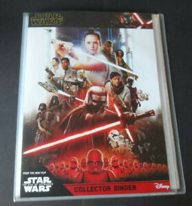 TOPPS STAR WARS THE RISE OF SKYWALKER 153 CARD SET & 5 LTD CARDS & BINDER