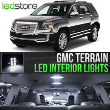 2010-2017 GMC Terrain White LED Lights Interior Kit