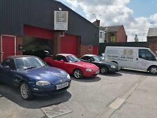 Mazda MX5 mohair hood/top/roof + glass hrw & Frame Overhauled £570