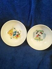 GIBSON DISNEY CEREAL BOWL LOT OF 2