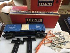 Lionel Operating Brakeman Car (3424) and bridge set 3424-100