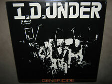 I.D. UNDER Genericide RARE FACTORY SEALED New Vinyl LP 1988 WTF1742 NoCut Punk