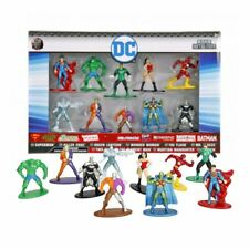 New DC Nano Metalfigs 10 Figure Pack Wonder Woman Batman Superman Official