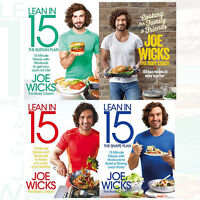 Joe Wicks Collection 4 Books Set Cooking for Family and Friends ,Shift Plan New