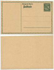 36297 - Bayern Ganzsache P 93 (15) - Postkarte - ungebraucht