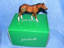 John Beswick Horse Thoroughbred Foal Light Bay JBH43 New Boxed