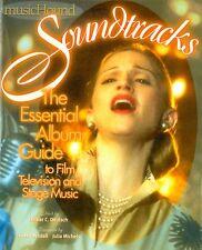 MusicHound Soundtracks: The Essential Album Guide to Film TV & Stage Music (C78)